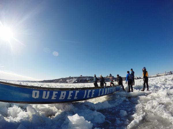Go Ice Canoeing in Québec