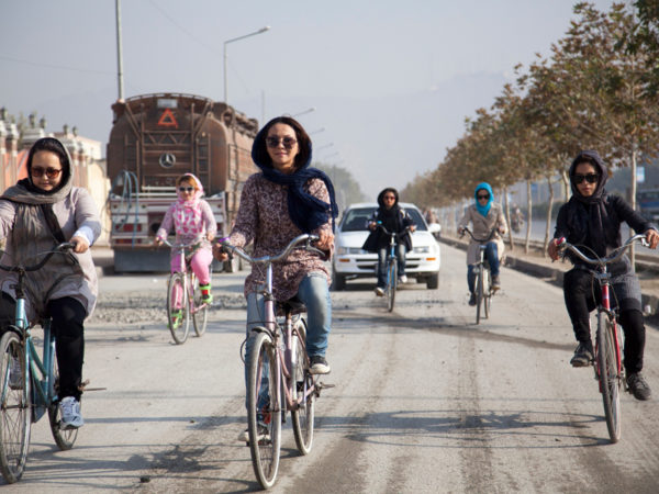 Spotlight on Afghan Women's Cycling Team