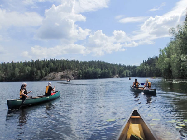 Canoe, Hike and SUP in Finland