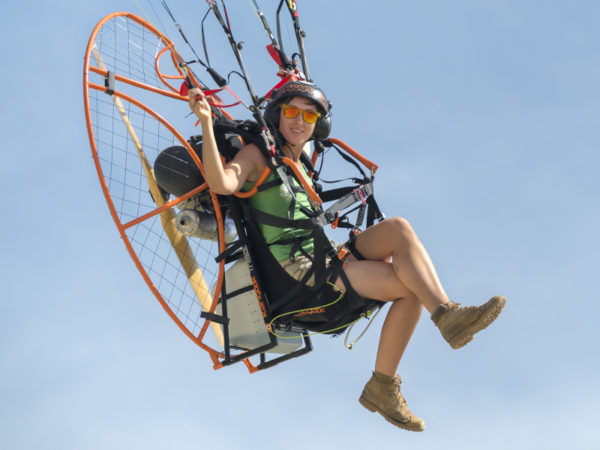 A Day in the Life of a Female Paramotor Pilot