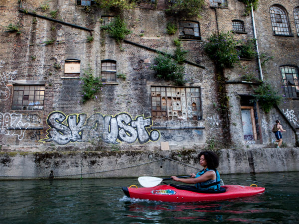 Exploring East London by Kayak