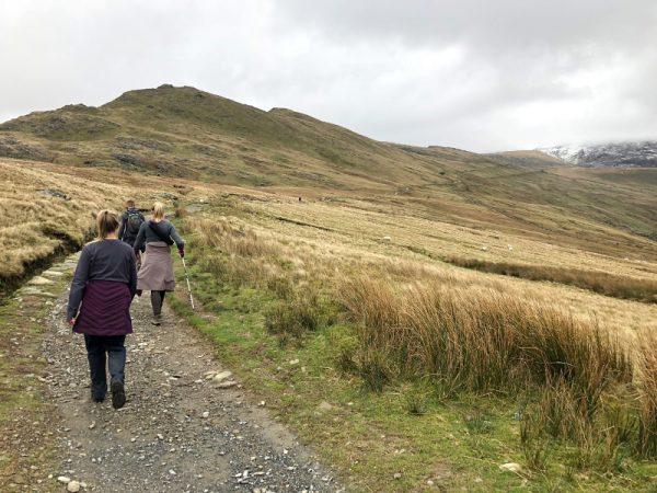 Hiking Snowdon
