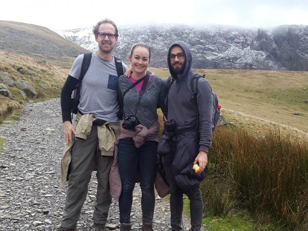 Snowdon foothills